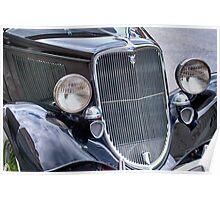 1934 Ford Phaeton Convertible Poster