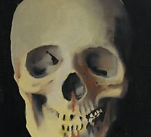 Human skull #2 by Zeb Shaffer