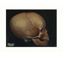 Childs Skull Art Print