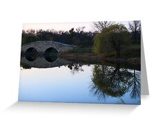Ponder Reflection Greeting Card