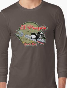 EL PENGUIN - Born to Fly Long Sleeve T-Shirt