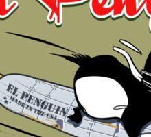 EL PENGUIN - Born to Fly Sticker