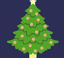 O' Christmas Tree #2 by simplepaperplan