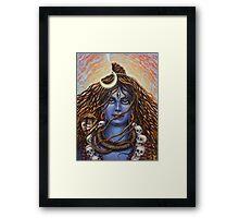 Shiva Mahadev Framed Print