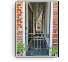 Gated Entry Canvas Print
