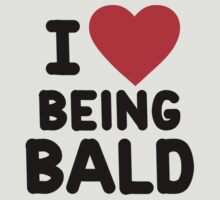 I heart being bald by onebaretree