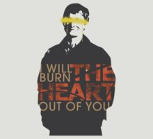 I will burn the heart out of you - John Watson by generalmiss-a