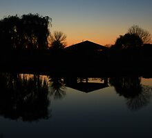 Sunset Reflections by Adam Kuehl
