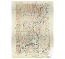 USGS Topo Map Washington State WA Okanogan 242915 1905 125000 Poster