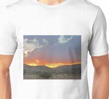 Sunset on the clouds , Purnululu National Park, Kimberley, Western Australia Unisex T-Shirt
