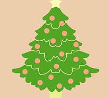 O' Christmas Tree #3 by simplepaperplan
