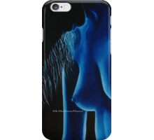 In The Blue Mood iphone case by k Madison Moore iPhone Case/Skin
