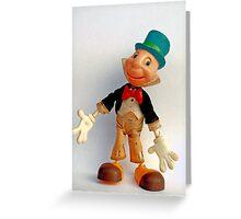 Jiminy Cricket by Marx Toys Greeting Card