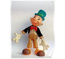 Jiminy Cricket by Marx Toys Poster
