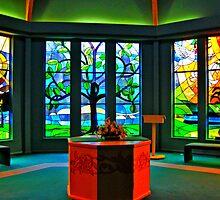 Prayer Chapel, Chilton Memorial Hospital by Jane Neill-Hancock