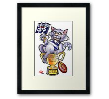 Geelong Cats Premiers 2011 Framed Print