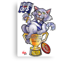 Geelong Cats Premiers 2011 Canvas Print