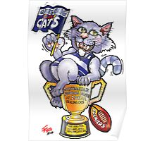 Geelong Cats Premiers 2011 Poster
