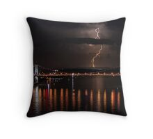Once Upon a Stormy Night Throw Pillow