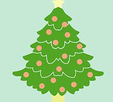 O' Christmas Tree #4 by simplepaperplan