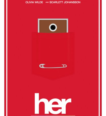 Her film poster Sticker