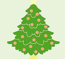 O' Christmas Tree #5 by simplepaperplan