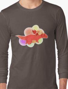 TH : nyan smaug 2 Long Sleeve T-Shirt
