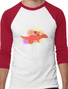TH : nyan smaug 2 Men's Baseball ¾ T-Shirt