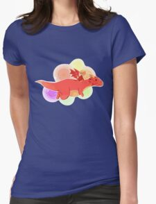 TH : nyan smaug 2 Womens Fitted T-Shirt