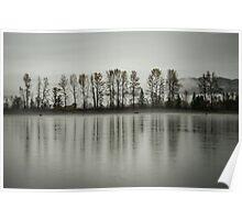 The Fraser River in Aggasiz Poster