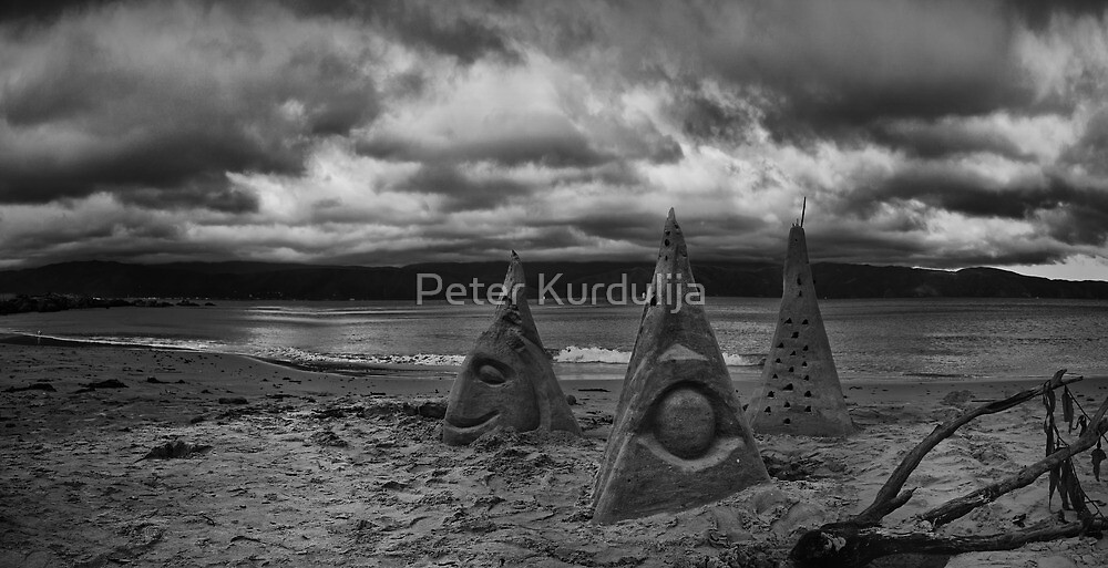 Sand Sculptures of Scorching Bay by Peter Kurdulija
