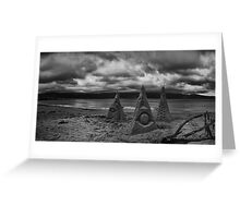 Sand Sculptures of Scorching Bay Greeting Card