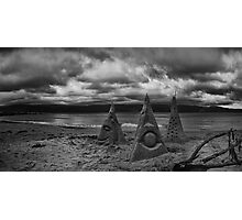 Sand Sculptures of Scorching Bay Photographic Print