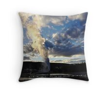 Clouds Creation Throw Pillow