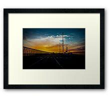 Westgate Sunrise Framed Print