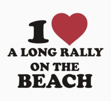 Beach Volleyball Rally by VBTees