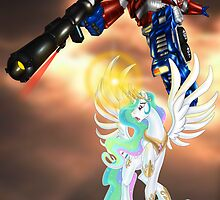 Celestia Heeds the Call of the Last Prime by IronRaptor
