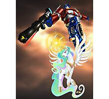 Celestia Heeds the Call of the Last Prime Photographic Print
