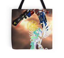 Celestia Heeds the Call of the Last Prime Tote Bag