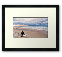 The Contemplation Lounge Framed Print