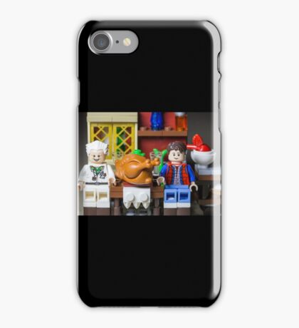 Thanksgiving with Doc and Marty iPhone Case/Skin