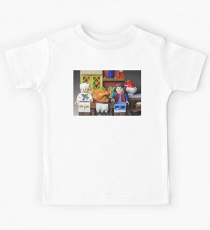 Thanksgiving with Doc and Marty Kids Tee