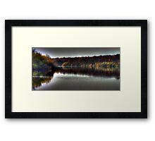 Autumn at Bewl Water  Framed Print