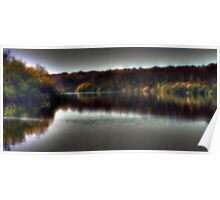 Autumn at Bewl Water  Poster