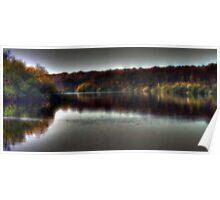 Autumn at Bewl Water  Poster