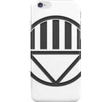 Black Lantern Insignia iPhone Case/Skin