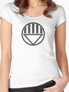 Black Lantern Insignia Women's Fitted Scoop T-Shirt