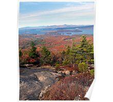 Mount Major Views NH Poster