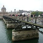 Pont des Arts, Paris by ChristineBetts