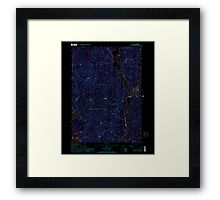 USGS TOPO Map New Hampshire NH Ashland 329469 2000 24000 Inverted Framed Print